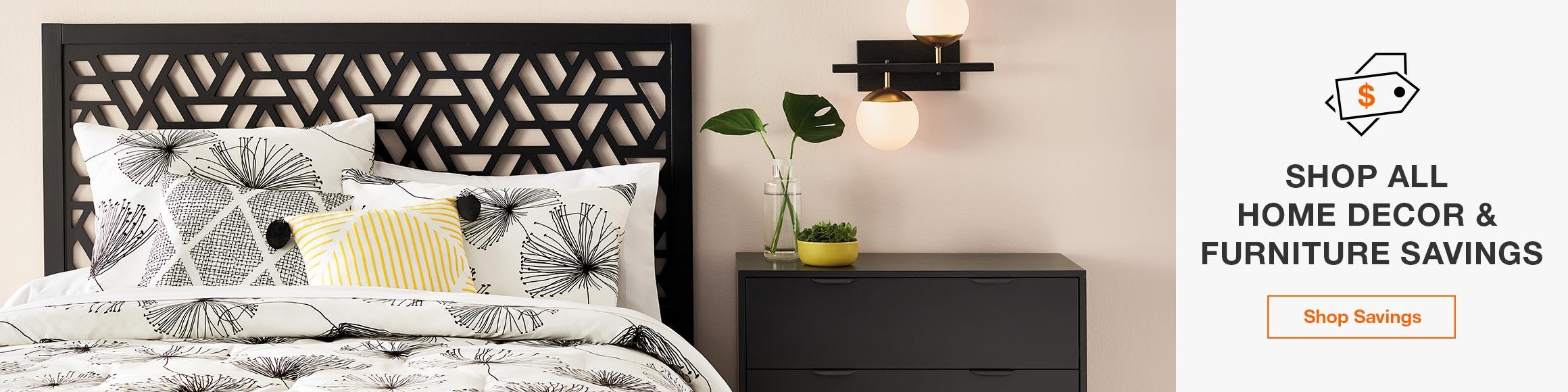 Shop All Home Decor & Furniture Savings