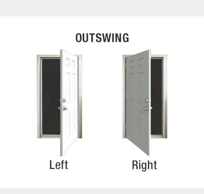 Door Handing - Outswing