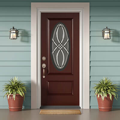 Choose Your Door Material - Fiberglass