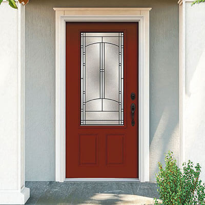 Choose Your Door Material - Steel
