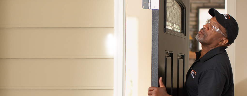 Exterior doors at the home depot - 30 x 80 exterior door with pet door ...