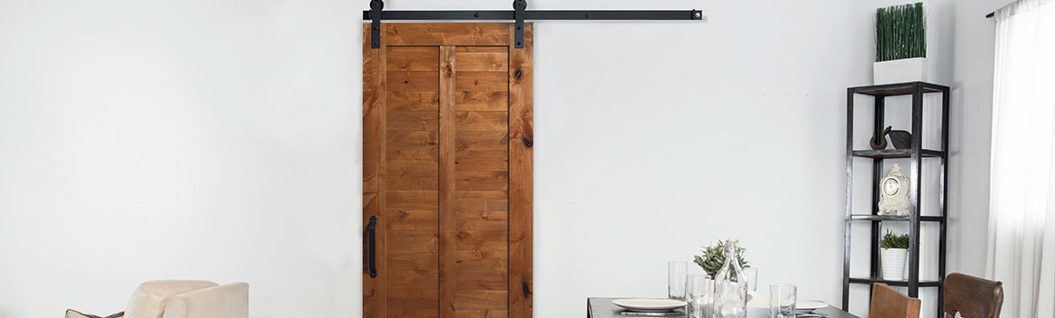 20% OFF SELECT BARN DOORS - Valid 2/1–2/28/2019.