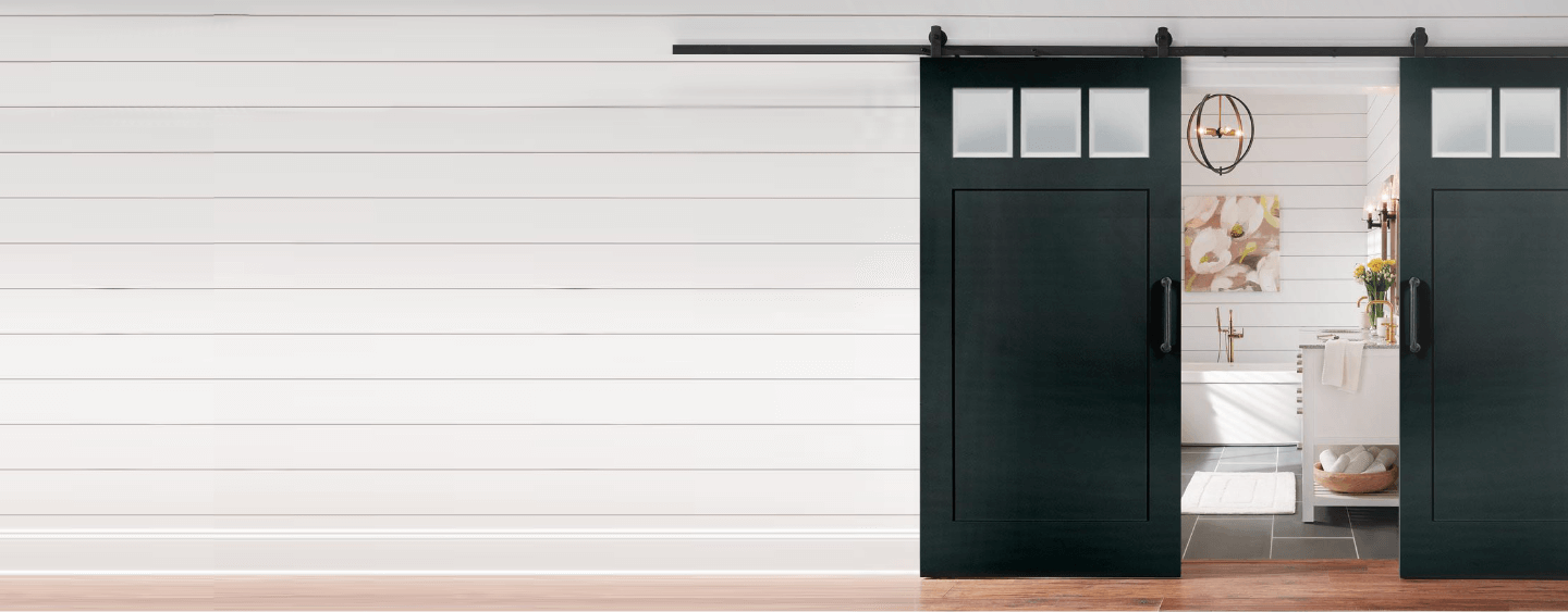 $100 OFF JEFF LEWIS BARN DOORS & Interior Doors at The Home Depot