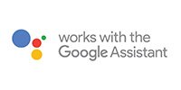 Google Home voice assistant logo link to compatible smart home devices