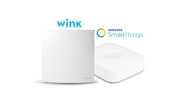 Wink & Samsung SmartThings smart hub image