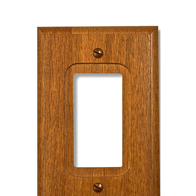 Switch Plates Outlet Covers Combination Wood