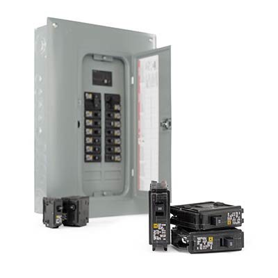 [DIAGRAM_4FR]  Power Distribution & Circuit Protection - The Home Depot | Round Fuse 50 Amp Breaker Box |  | The Home Depot