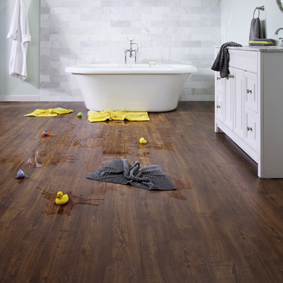 find durable laminate flooring floor tile at the home depot. Black Bedroom Furniture Sets. Home Design Ideas