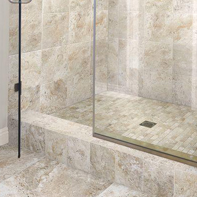 mosaic portfolio grout shower floor works northwest