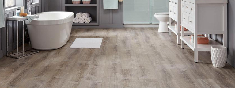 vinyl flooring resilient flooring the home depot rh homedepot com bathroom vinyl flooring tiles bathroom vinyl flooring tile effect