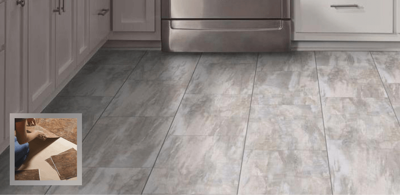 vinyl tile flooring - Bathroom Vinyl Flooring