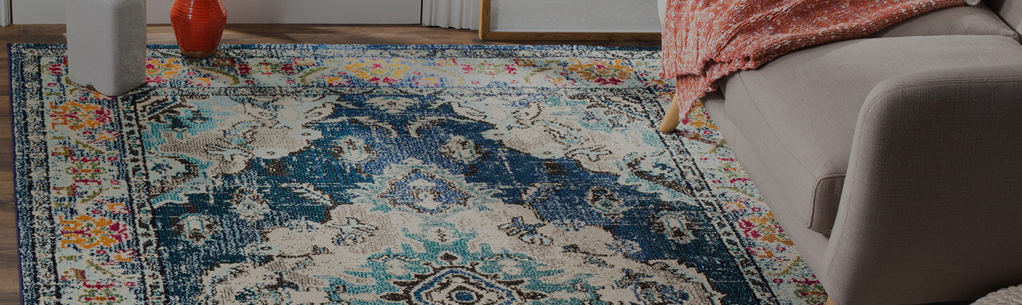 25% OFF ALL AREA RUGS