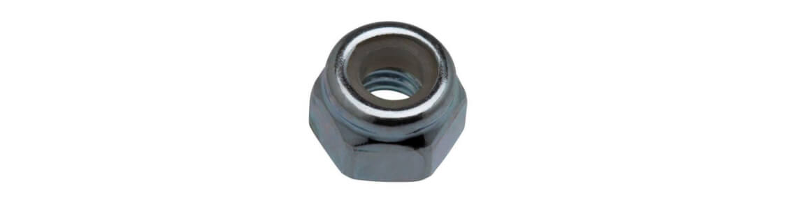 25 1//4-28 Self Locking Serrated Flange Hex Lock Nuts Whiz Zip Zinc Plated