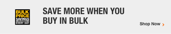 Save more when you buy in bulk