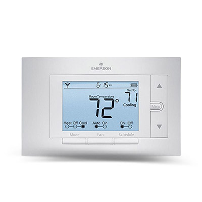Thermostats Programmable Thermostats And More At The Home Depot