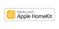 Works with Apple HomeKit
