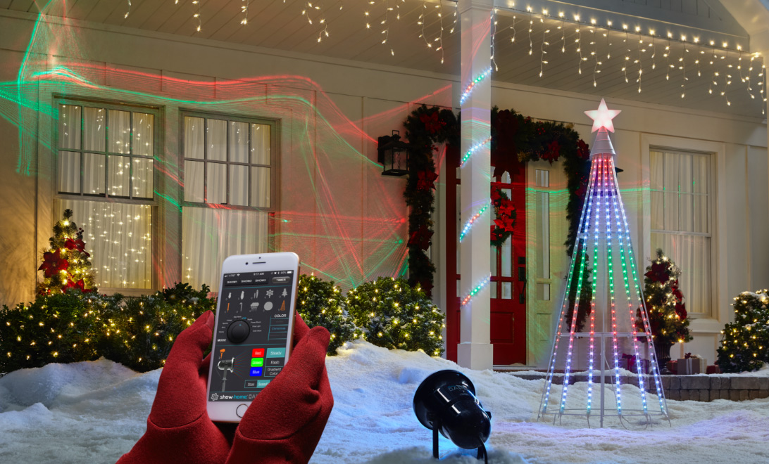 bluetooth app - Christmas Light Up Window Decorations