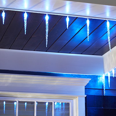 Shop christmas lights accessories at the home depot icicle lights aloadofball Images