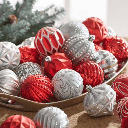 Christmas Ornaments & Tree Toppers - Indoor Christmas Decorations €� The Home Depot