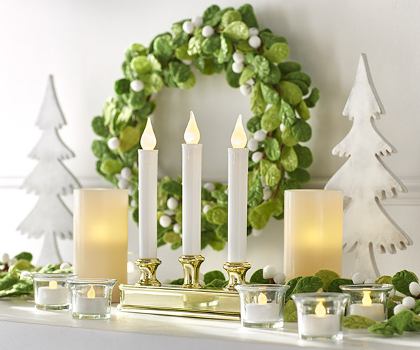 Indoor Christmas Decorations At The Home Depot