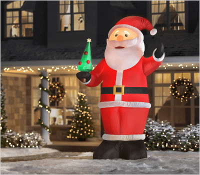 Inflatables over 9 feet - Outdoor Christmas Decorations