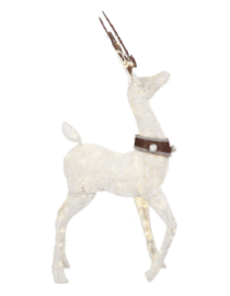 outdoor christmas decorations - Lighted Deer Christmas Lawn Ornaments