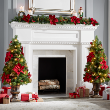 christmas garlands by length under 7 - Garland Christmas Decor