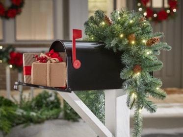 Christmas Greenery The Home Depot