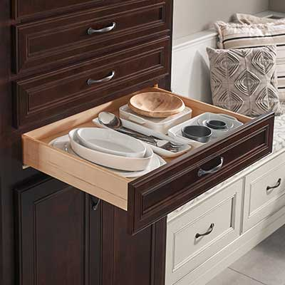 Full Kitchen Remodel · Plate Organizer