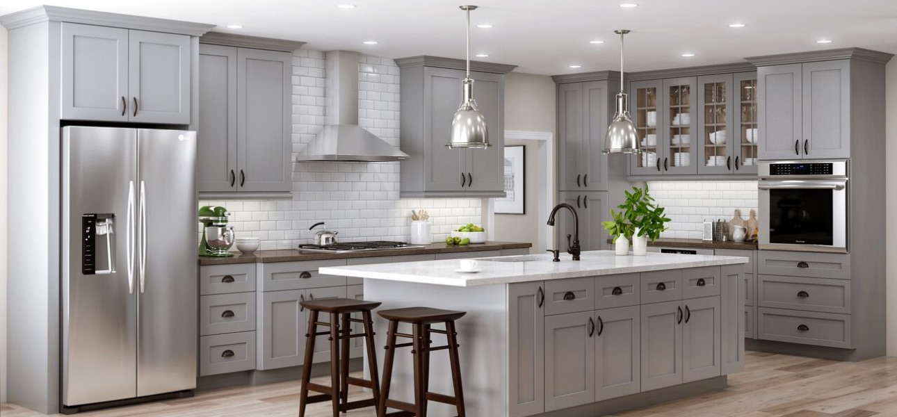 Kitchen Cabinets At The