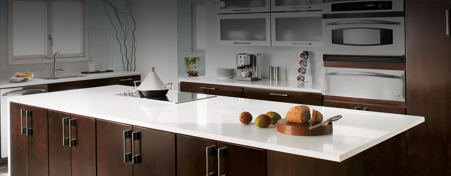 kitchen white discount with cabinets countertops quartz