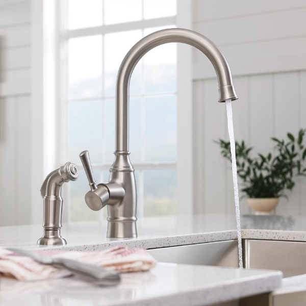 1-Handle Standard Kitchen Faucets