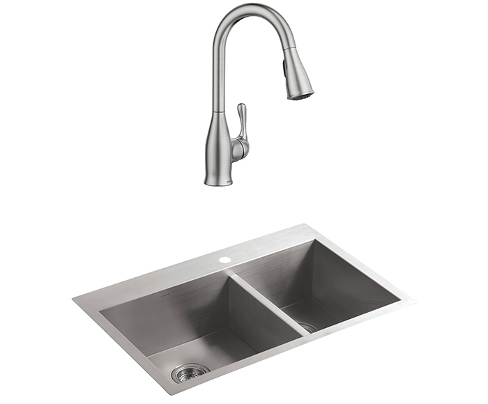 Kitchen Faucets for 1-Hole Sinks