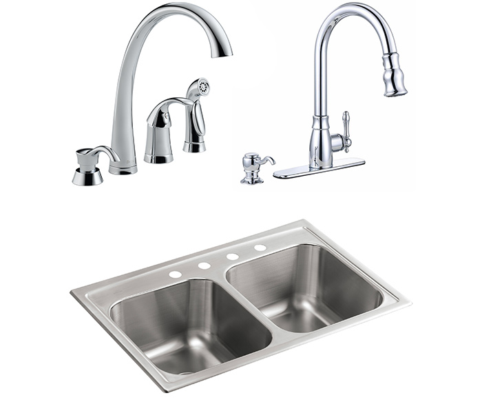 Kitchen Faucets for 4-Hole Sinks