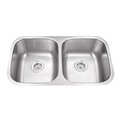 Kitchen Double Sinks Kitchen sinks at the home depot double bowls workwithnaturefo