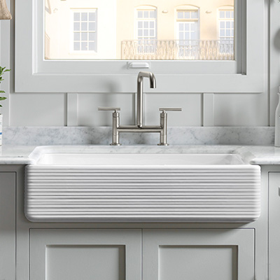 Farmhouse / Apronfront sink