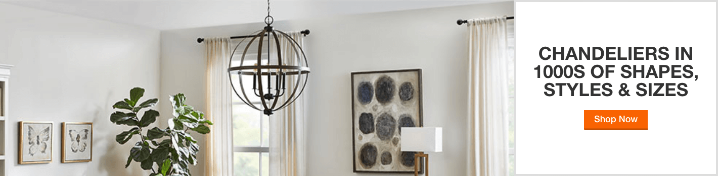 make a statement with chandelier savings