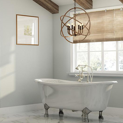Bathroom lighting at the home depot vanity lighting bathroom chandeliers aloadofball Choice Image
