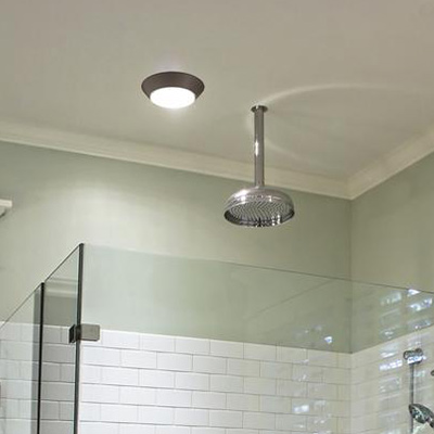 Bathroom flushmount lighting