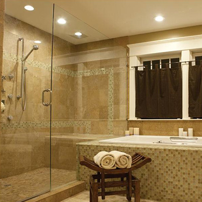 Bathroom lighting at the home depot recessed lighting aloadofball Gallery