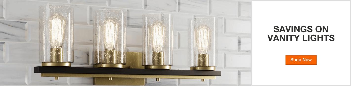 savings on vanity lights