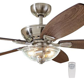 Indoor Ceiling Fans with Remotes