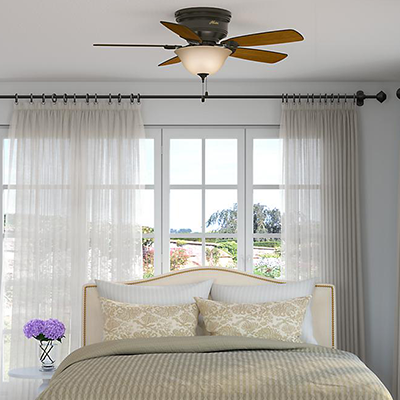 Beautiful Bedroom Ceiling Fan Ideas