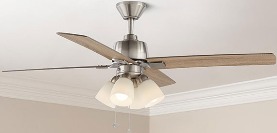 Indoor Ceiling Fans with Lights