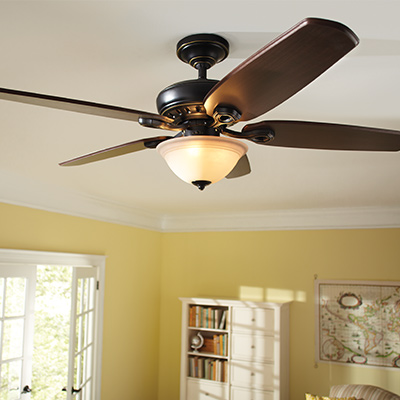 Bedroom Ceiling Fans With Lights. Large Room Fans Outdoor Ceiling  Indoor at The Home Depot