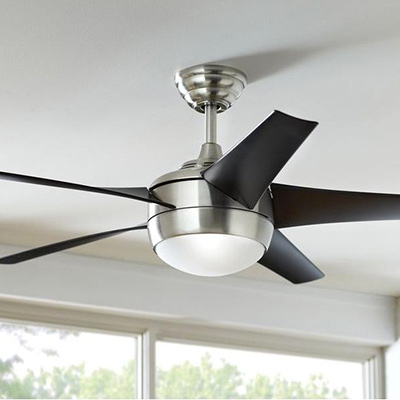 Outdoor ceiling fans indoor ceiling fans at the home depot ceiling fans for every room modern mozeypictures Gallery