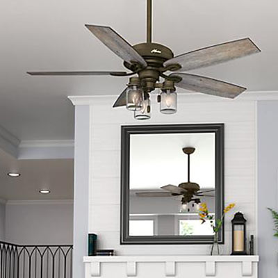 farmhouse ceiling fans - Bedroom Ceiling Fans