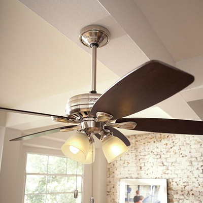 Outdoor ceiling fans indoor ceiling fans at the home depot traditional aloadofball Image collections