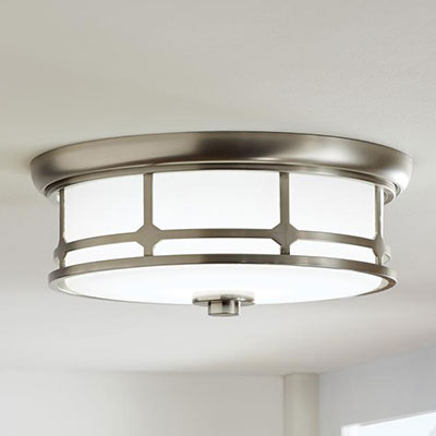 ceiling lighting at the home depotflush mount lights