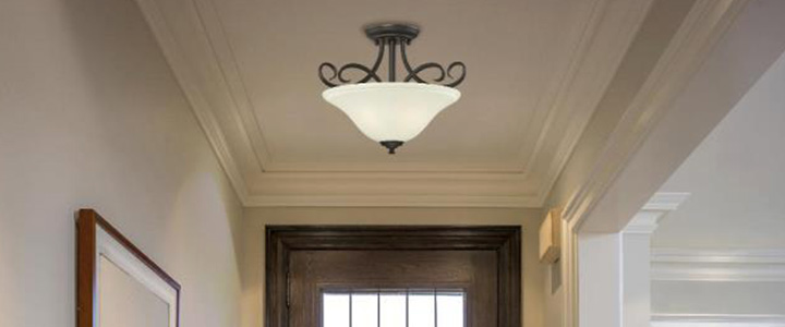 Ceiling lighting at the home depot semi flush mount lighting mozeypictures Gallery